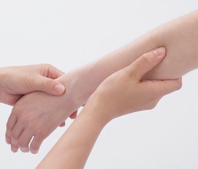 Fűtésrendszer a kezeknél