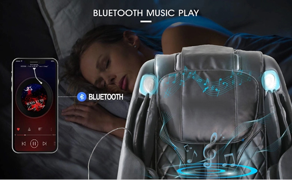 Everest 2020-as masszázsfotel - bluetooth