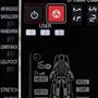 Panasonic EP MA70 masszázsfotel távirányítója