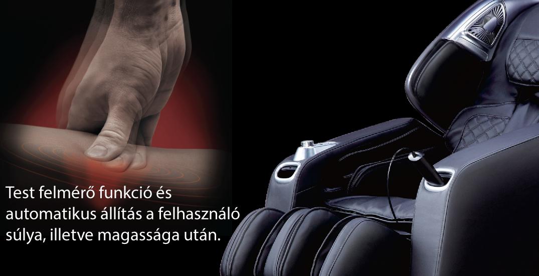 Komoder Veleta Masszázsfotel