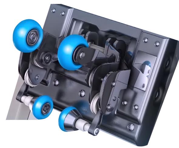 A Komoder Veleta masszázsfotel testfelmérő funkcióval rendelkezik